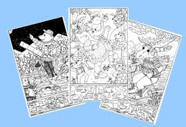 hidden objects in picture puzzles worksheets
