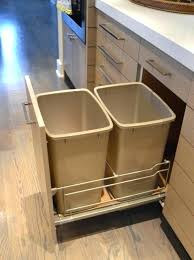 kitchen trash can ideas lovely kitchen trash can storage