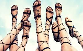trends spring summer 2015 the gladiator sandal youtube