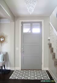 gray painted doors behr paths and castles