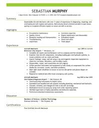 Sample Resume For Utility Worker by Maintenance Resume Template