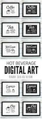 Kitchen Artwork Ideas Best 25 Coffee Wall Art Ideas On Pinterest Coffee Shop Menu