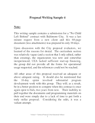 10 best images of proposal writing standard sample proposal