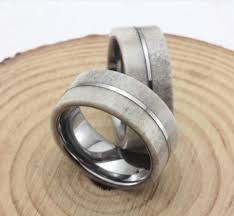 antler wedding ring deer antler pinstripe mens tungsten wedding bands anniversary