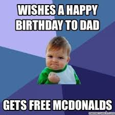 Happy Birthday Dad Meme - funniest happy birthday meme collection for dad 2happybirthday