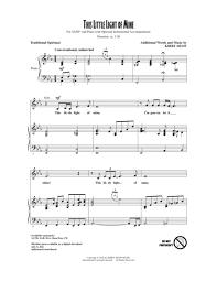 instrumental this little light of mine download this little light of mine sheet music by kirby shaw sheet