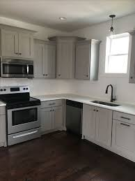 pictures of kitchens with gray cabinets kitchen trend colors grey kitchen cabinets at lowes new gray in