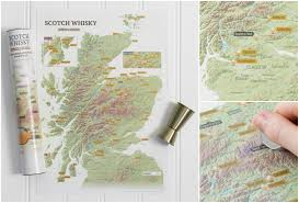 Map Wrapping Paper Craenen Welcome