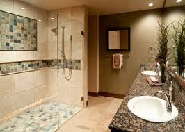 Walk In Showers by Walk In Showers Advantages And The Curbless Walk In Showers