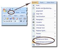 designs powerpoint 2007 where is the background in microsoft powerpoint 2007 2010 2013