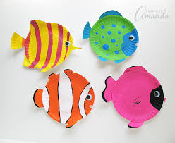 paper plate tropical fish a vibrant and paper plate kid s craft