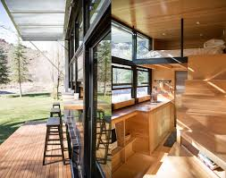 Tiny House 250 Square Feet by Solar Powered Elevate Structure Is Wrapped In A Living Breathing