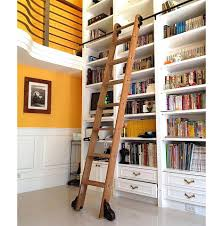 Bookcase Ladder Bookcase Ladder Kit Decor Modern On Cool Fancy At Bookcase Ladder