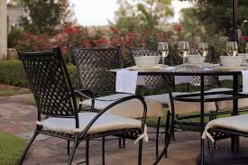 Wrought Iron Outdoor Patio Furniture by A Short History Of Outdoor Furniture Summer Classics