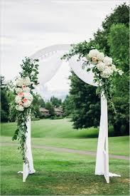 wedding arch entrance simple diy garden wedding decoration ideas garden wedding