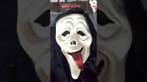 scary movie ghost face wazzup mask review youtube