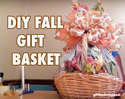 diy gift basket for fall season giftbasketappeal