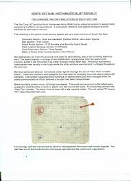Sample Page Vietnamese Military Mail Sample Page