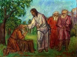 christ healing a leper