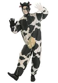 plug and socket costume spirit halloween cow costume funny cow costumes