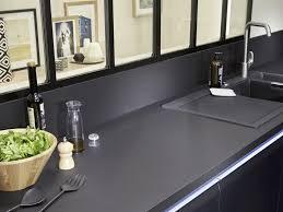 plan de travail cuisine noir plan de travail cuisine noir idée de modèle de cuisine