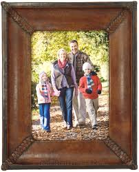 leather picture frames sebastian handmade leather picture frame