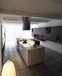 cucina componibile con isola kalea by cesar arredamenti design