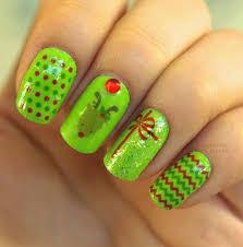 11 best acrylic christmas nails design images on pinterest