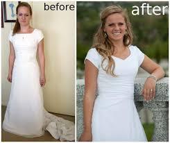 wedding dress alterations wedding dress alteration after adding a godet handmade