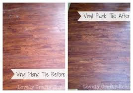 side by side vinyl plank tile
