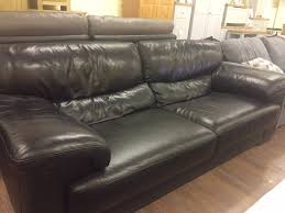 VANTAGE Famous Brand   Seater Full Leather Sofa Brown The - Full leather sofas