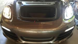 Porsche Boxster Base - installed hid kit today on base boxster