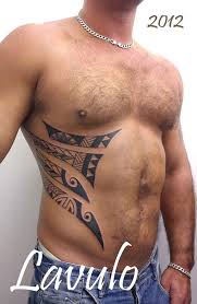 23 tribal rib tattoos and designs