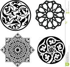 islamic ornaments stock vector image of decorative illustration