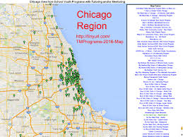 Chicago On A Map by Tutor Mentor Institute Llc Reducing Violence Poverty In Chicago