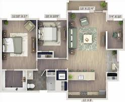 two bedroom apartment floor plans 3d home design u0026 decorating geek