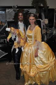 and the beast with baby lumiere family costume