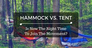 hammock vs tent which one should you choose and why