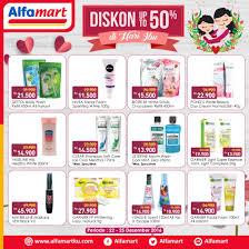 Parfum Di Alfamart alfamart promo hari ibu diskon sai dengan 50 giladiskon