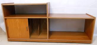 Vinyl Record Bookcase Style Modern Vinyl Record Storage Cabinet