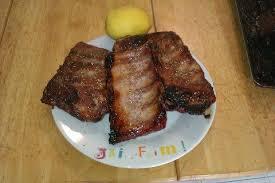 cuisiner travers de porc recette travers de porc caramélisés au miel 750g