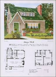 Storybook Homes Floor Plans 1920 National Plan Service English Cottages English And House