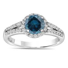 Blue Diamond Wedding Rings by Engagement Rings Unusual Engagement Rings Jewelry By Garo New York