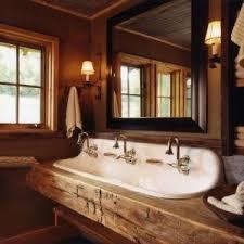 Narrow Rectangular Bathroom Sink Denver Narrow Bathroom Sink Powder Room Contemporary With Pendant