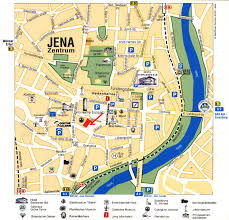 Kassel Germany Map by Guide To Bach Tour Jena City Map
