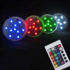 remote control battery lights 7cm hookah shisha accessories battery operated led light with remote