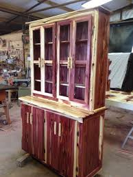 rustic cedar china hutch more than wood sawmill pinterest