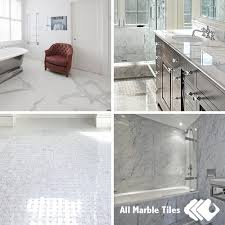 Carrara Marble Bathroom Designs Bianco Carrara Marble Tile Mosaic Marble Border And Moulding For