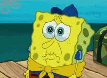 Spongebob Meme Face - spongebob scared face gifs tenor