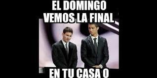 Memes De Messi - memes de ronaldo y messi revientan las redes sociales publinews